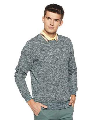 Scotch & Soda Men's Crewneck Sweat in Multicolour Melange Felpa Quality