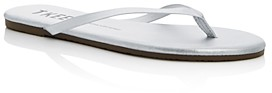 TKEES Patent Leather Flip-Flops