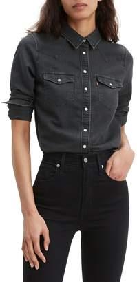 Levi's Ultimate Standard-Fit Denim Western Shirt