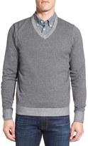 Nordstrom Men's Tonal Trim V-Neck Sweater