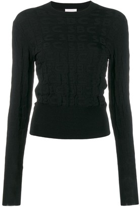 See by Chloe All Over Logo Jumper