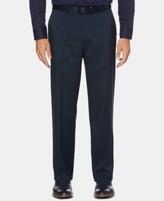 Perry Ellis Mens Slim Fit Crosshatch Cotton Pant