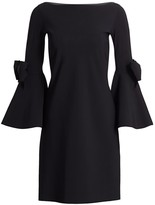Chiara Boni Zowie Bell-Sleeve Dress