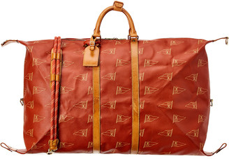 Louis Vuitton Limited Edition Red Cup Coated Canvas Boston Bag