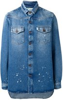 Off-White chest pockets denim jacket