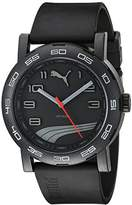 Puma Unisex PU103201009 Move II Analog Display Quartz Black Watch
