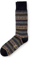 Ralph Lauren Fair Isle Trouser Socks