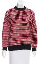 Cédric Charlier Oversize Patterned Sweater