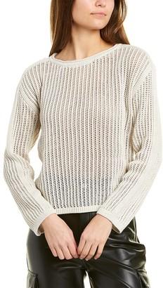 Club Monaco Mesh Knit Sweater