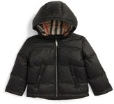 Burberry Rio Hooded Down Jacket (Baby Boys & Toddler Boys)
