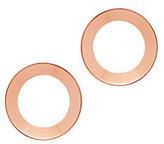 Vita Fede Cosimo Open Stud Circle Earrings