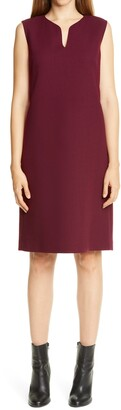 Lafayette 148 New York Taren Wool Shift Dress