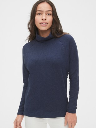 Gap Maternity Mockneck Nursing Sweatshirt