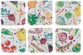 Maxwell & Williams Food For Thought Coasters Set of 6 Assorted