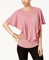 Thalia Sodi Ruffle Overlay Top, Created for Macy's