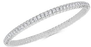 Zydo Stretch 18K White Gold Diamond Bracelet
