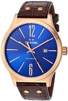 TW Steel Men's TWA1313 Analog Display Quartz Brown Watch