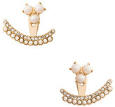 Kate Spade Dainty sparklers double row ear jackets
