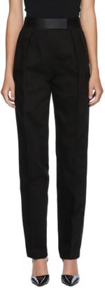 Alexander Wang Black Tuxedo High Waisted Trousers