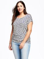 Old Navy Cocoon Plus-Size Dolman-Sleeve Tee