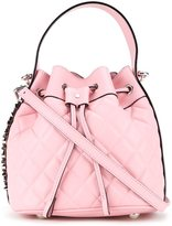 Moschino quilted bucket tote