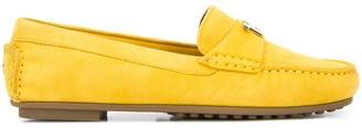 Tommy Hilfiger Logo-Plaque Loafers