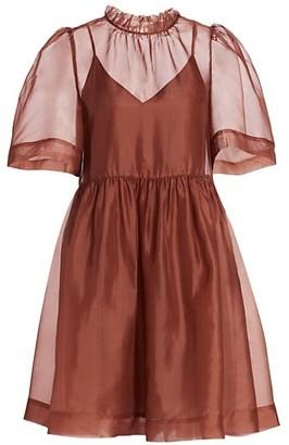 Sea Nuria Organiza Combo Fit & Flare Dress