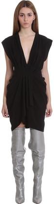 IRO Garm Dress In Black Synthetic Fibers