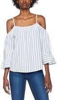 Romeo & Juliet Couture Women's Rjpgmpst1007 Casual Shirt,(Manufacturer Size: Medium)