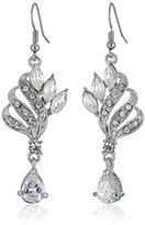 Nina Cubic Zirconia/Crystal Cocktail Drop Earrings