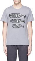 Nanamica Whale print T-shirt