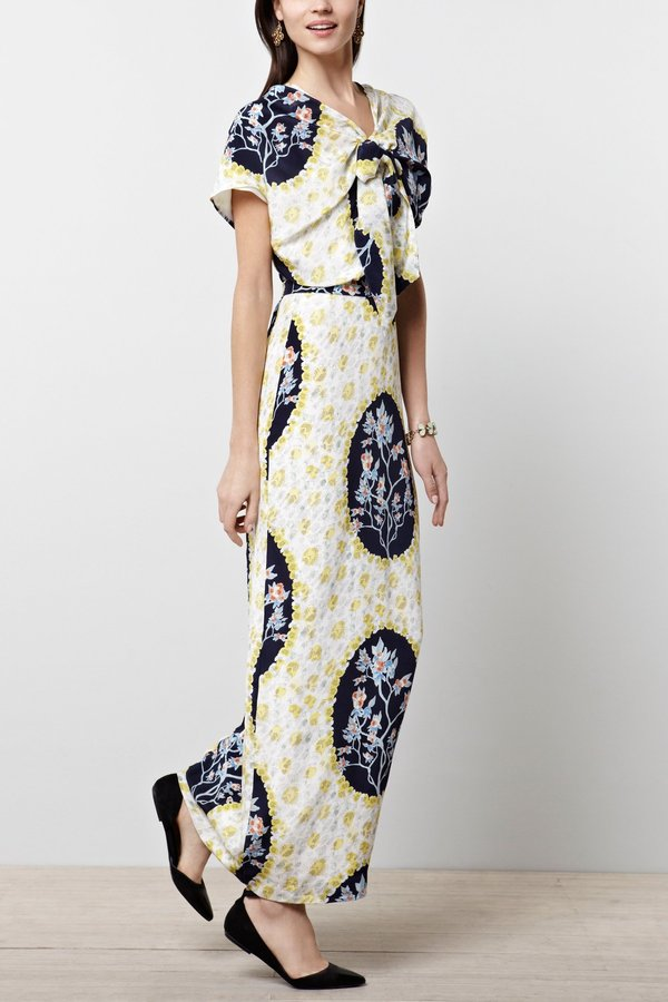 Anthropologie Rhoda Cameo Gown