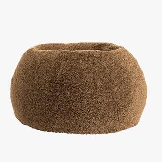 Pottery Barn Teen Teddy Bear Faux-Fur Bean Bag Chair