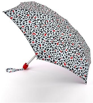 Lulu Guinness Tiny Cut Out Hearts Umbrella