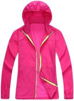 NiSeng Men Women UV Protect Lightweight Jacket Quick Dry Windbreaker Coat ArmyGreen 2XL