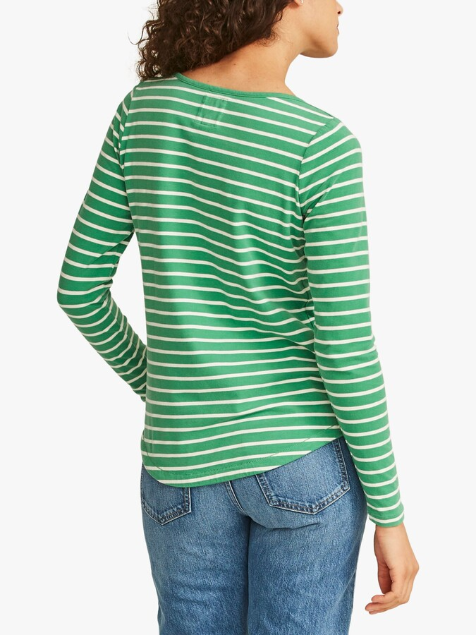 Thumbnail for your product : Fat Face FatFace Breton Stripe Top
