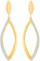 Swarovski Grape Short Pierced Earrings, White