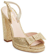 Kate Spade Briana Metallic Platform Sandals