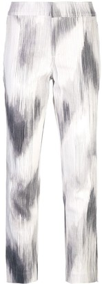 Josie Natori Texture Cotton Slim Pant