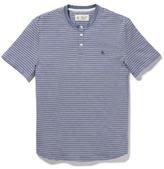 Original Penguin Denim Slub Stripe Henley
