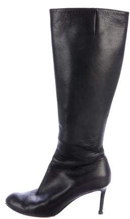 Christian Louboutin Leather Knee High Boots