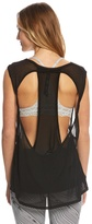 Zobha Double Twist Lowback Yoga Tank 8148804