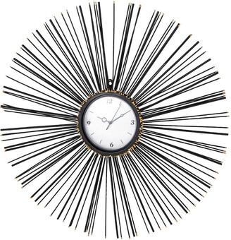 Uma Enterprises Uma Iron Sunburst Wall Clock