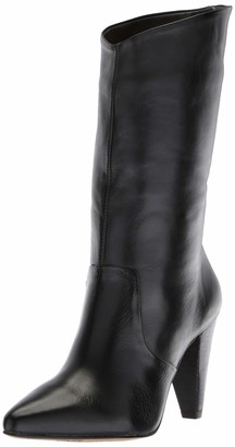 LFL by Lust for Life Women's L-Cayenne Fashion Boot Black Leather 7.5 M US