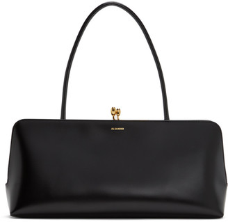 Jil Sander Black Medium Goji Top Handle Bag