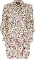 Isabel Marant Bruna printed mini dress