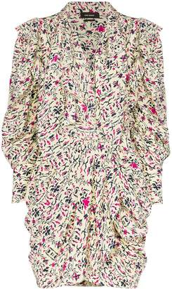 Isabel Marant Bruna printed mini dress