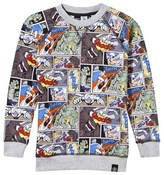 Molo Multi Romeo Cartoon Print Sweatshirt