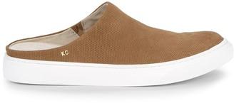 Kenneth Cole Madalyn Suede Platform Mule Sneakers