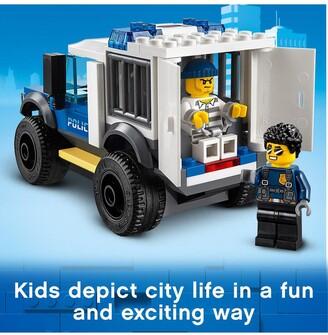 Lego City 60246 Police Station Building Light & Sound Bricks